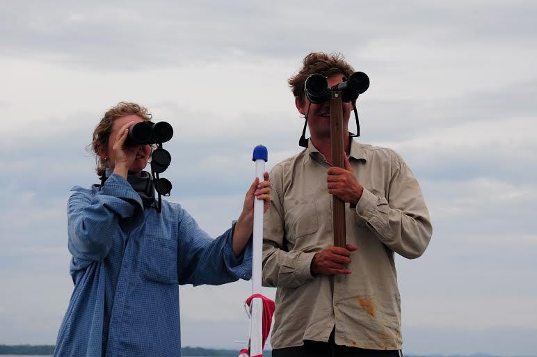 Stanislav Lhota with his colleague. Photo: Yayasan Rasi