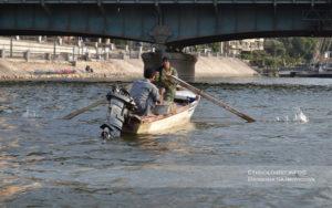 The Egyptian people on the Nile. Photo: Barbora Sajmovicova
