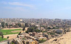 The view on the Giza. Photo: Barbora Sajmovicova, 2011.