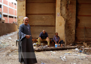 The people of Mokkatam Village. The people, who are living there collect the vaste of Cairo. Photo: Barbora Sajmovicova, 2011.
