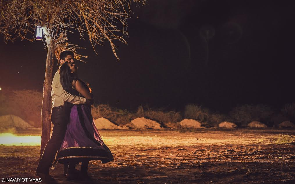 The evening wedding photography. Photo: Navjyot Vyas, Gujarat.