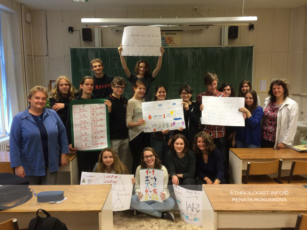 The school supplies in Czech school. Photo: Renata Rokuskova