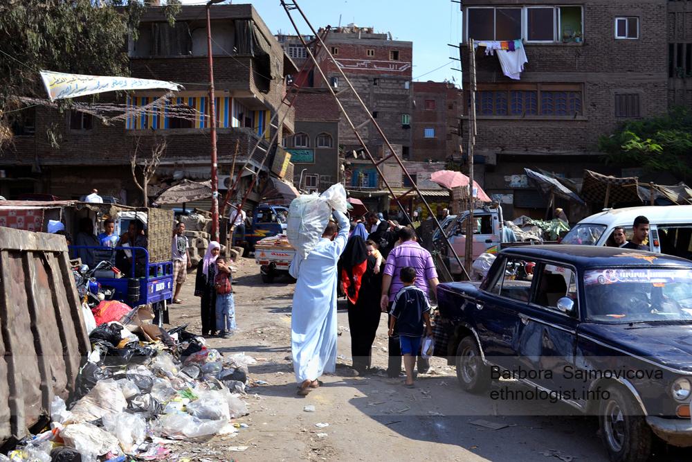 Vstup do Manšíjat Násir. Káhira, říjen 2011, foto: Barbora Šajmovičová.