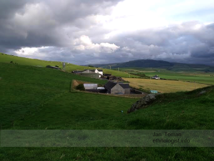 The view on farms of Campbletown. Photo: Jan Toman