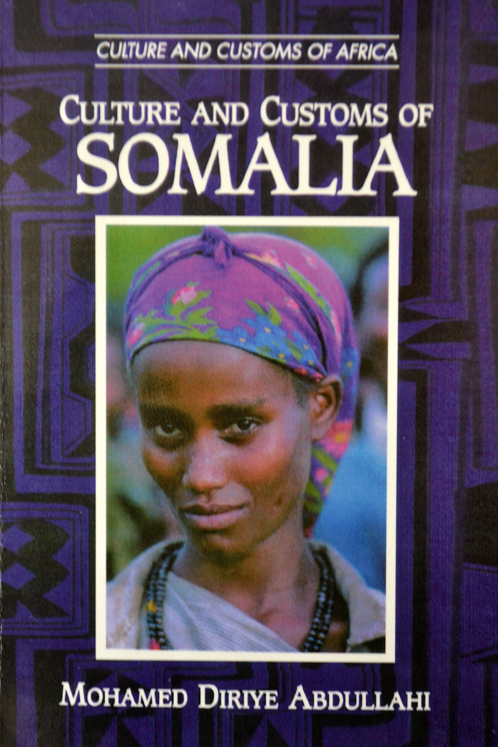 Kniha Culture and Customs of Somalia. Foto: Barbora Šajmovičová, 2015.