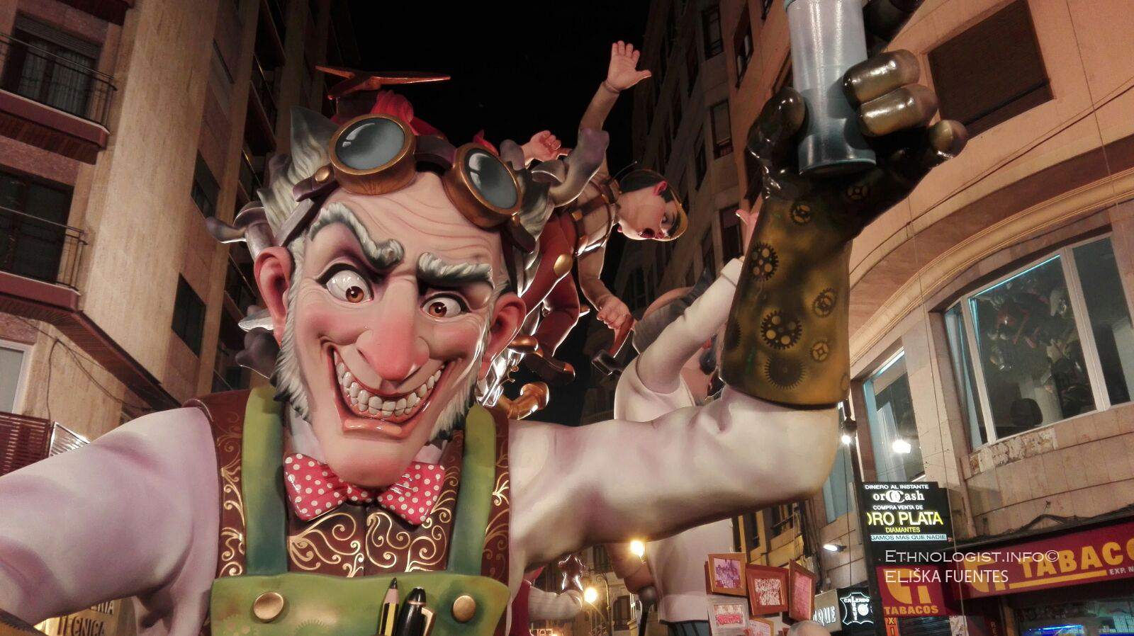Las Fallas Festival in Valencia. Photo: Eliska Fuentes