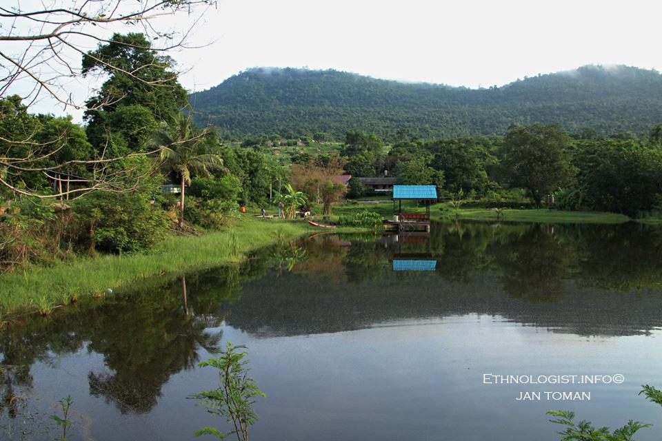 Ekologická farma Homtel na okraji deštného pralesa. Foto: Jan Toman, 2017.