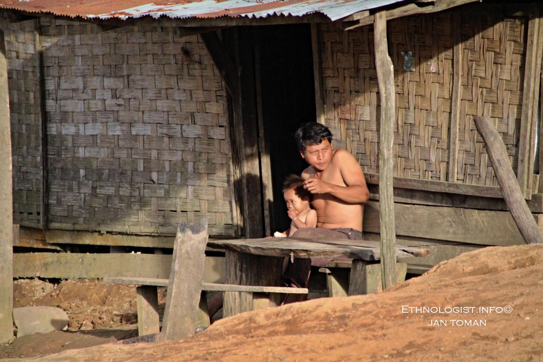 Lidé v horských vesničkách Laosu. Foto: Jan Toman, Laos.