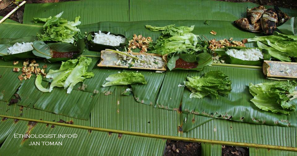 Oběd v pralese v Laosu. Foto: Jan Toman