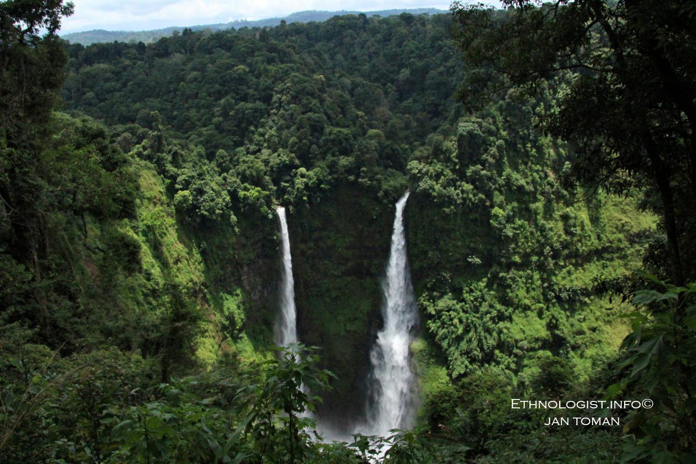 Vodopády Tad Fane v oblasti Bolaven Plateau v Laosu. Foto: Jan Toman
