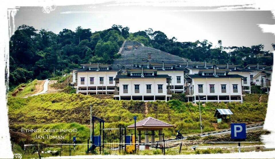 Moderní vesnice etnika Orang Asli. Foto: Jan Toman